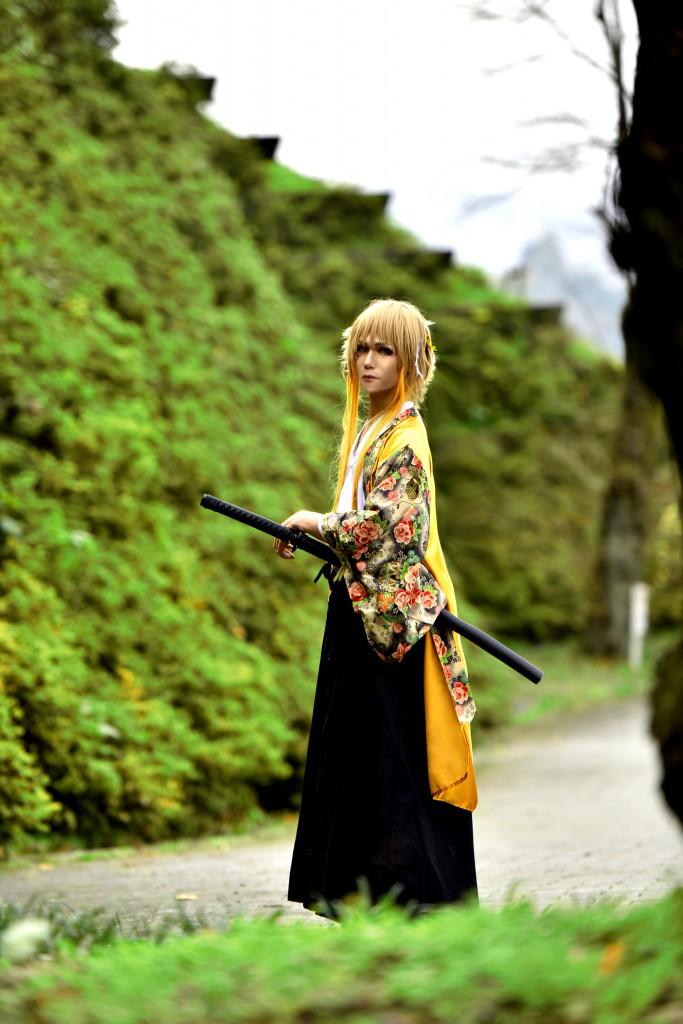 日本の伝統色 黄金色